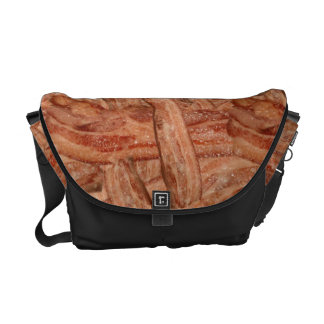 I Love Bacon Messenger Bags