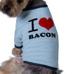 I love bacon ringer dog shirt