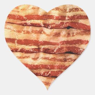 I LOVE BACON STICKERS!! HEART STICKER