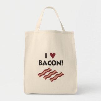 I love Bacon - Tote Canvas Bag
