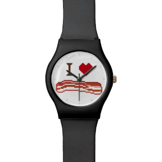 I Love Bacon Watches