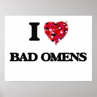 I Love Bad Omens Poster