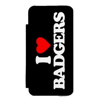 I LOVE BADGERS INCIPIO WATSON™ iPhone 5 WALLET CASE