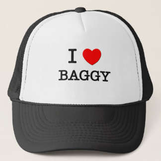 I Love Baggy Trucker Hat