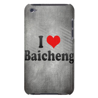 I Love Baicheng, China Barely There iPod Cover