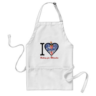 I Love Baking for Miracles Standard Apron