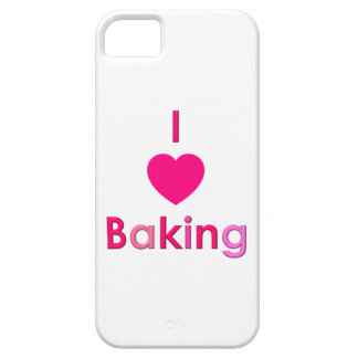 I LOVE BAKING phone case - Girls Just Wanna Bake Case For The iPhone 5