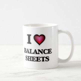 I Love Balance Sheets Coffee Mug