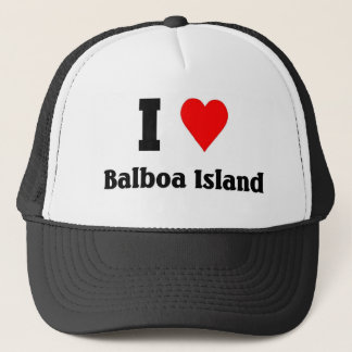 I love Balboa Island Trucker Hat