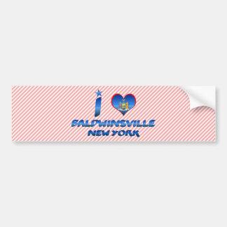 I love Baldwinsville, New York Bumper Sticker