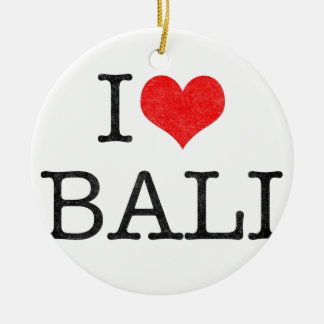 I LOVE BALI ORNAMENTS