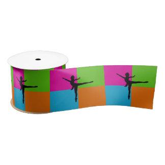 I love ballerina ribbon satin ribbon