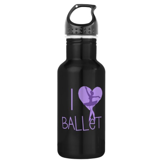 I love Ballet 532 Ml Water Bottle