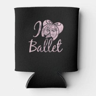 I Love ballet Can Cooler