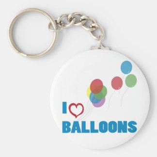 i love balloons key ring