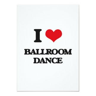 I Love Ballroom Dance Invites