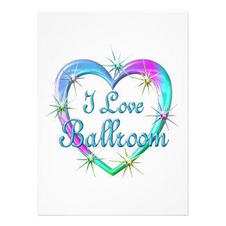 I Love Ballroom Custom Announcement