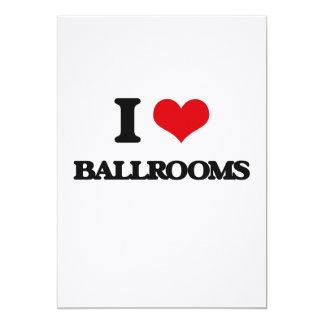 I Love Ballrooms Cards