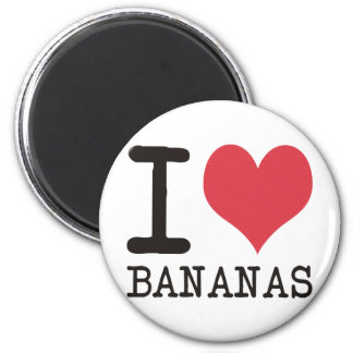 I Love Bananas - Apples - Bread Products & Designs Magnet