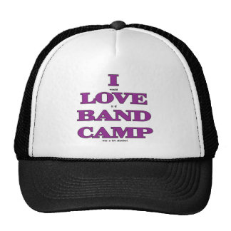 I Love Band Camp Mesh Hats