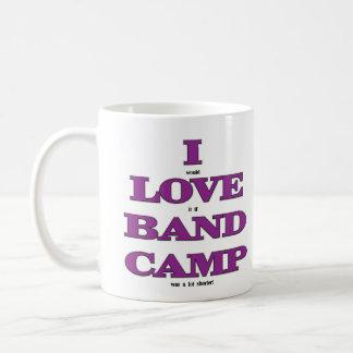 I Love Band Camp Mug