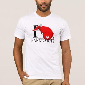 I Love Bandicoots T-shirts