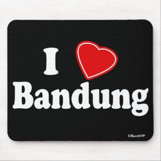 I Love Bandung Mouse Pad