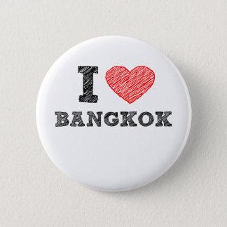 I Love Bangkok 6 Cm Round Badge