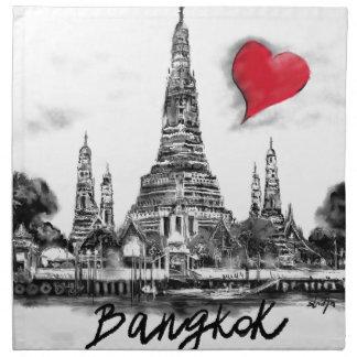 I love Bangkok Napkin