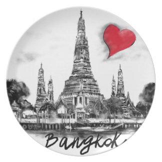 I love Bangkok Plate
