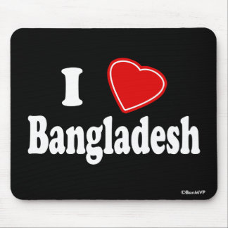 I Love Bangladesh Mouse Pad