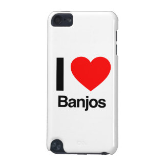 i love banjos iPod touch (5th generation) cover