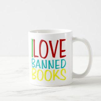I Love Banned Books Coffee Mug