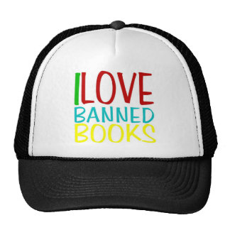 I LOVE BANNED BOOKS OFFICIAL CAP