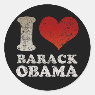 I love Barack Obama sticker