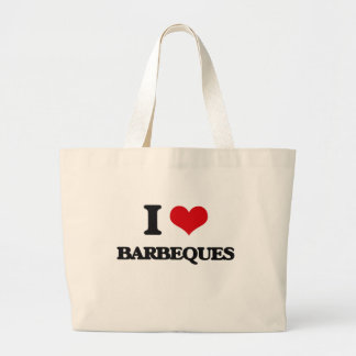 I Love Barbeques Tote Bag
