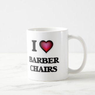 I Love Barber Chairs Coffee Mug