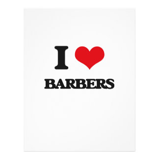 I love Barbers Personalized Flyer