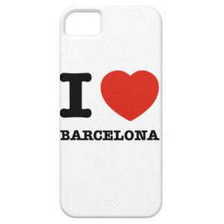 I Love Barcelona iPhone 5 Cover