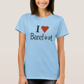 I Love Barefoot Hooves T-Shirt