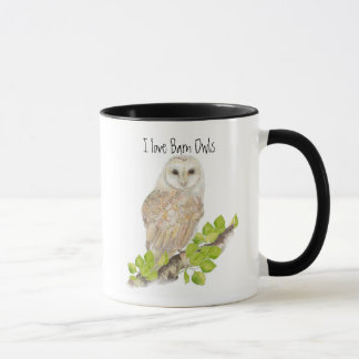 I love Barn Owl Mugs