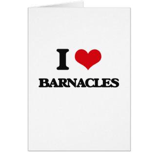 I Love Barnacles Card