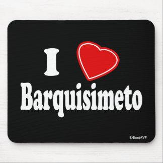 I Love Barquisimeto Mouse Pad
