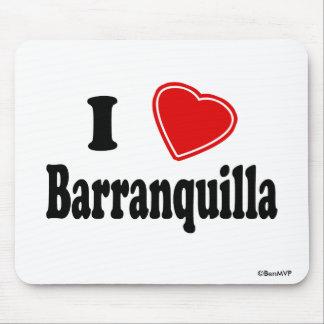 I Love Barranquilla Mouse Pad