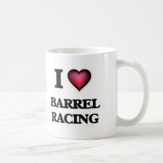 I Love Barrel Racing Coffee Mug