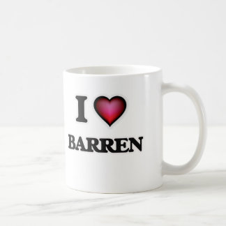 I Love Barren Coffee Mug