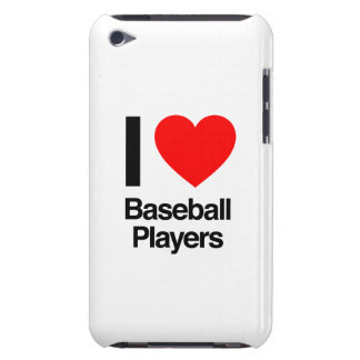 i love baseball players iPod Case-Mate case