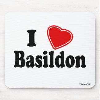 I Love Basildon Mouse Pad