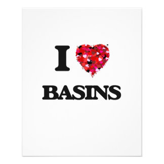 I Love Basins 11.5 Cm X 14 Cm Flyer