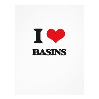 I Love Basins Custom Flyer